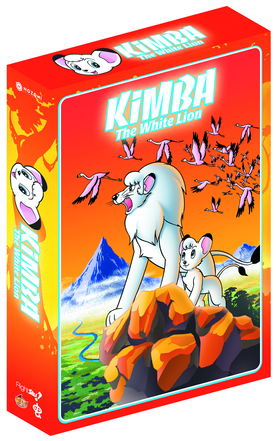 KIMBA THE WHITE LION COMP SER DVD