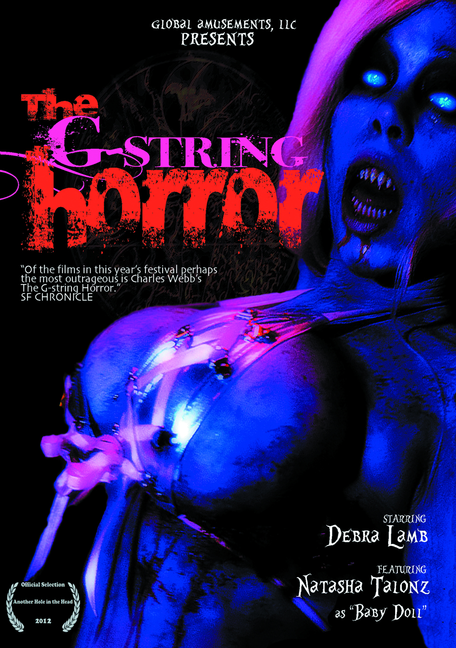 G-STRING HORROR DVD