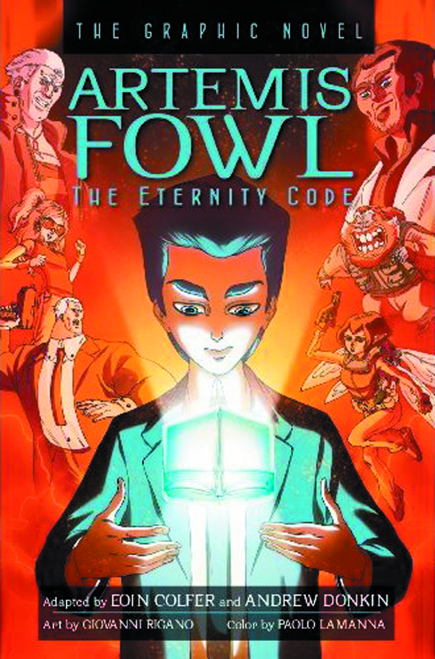 ARTEMIS FOWL GN VOL 03 ETERNITY CODE