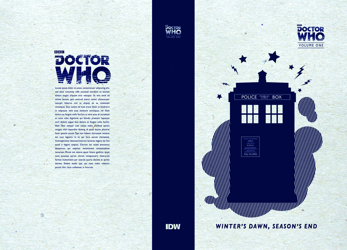 DOCTOR WHO SERIES 01 HC WINTERS DAWN SEASONS END