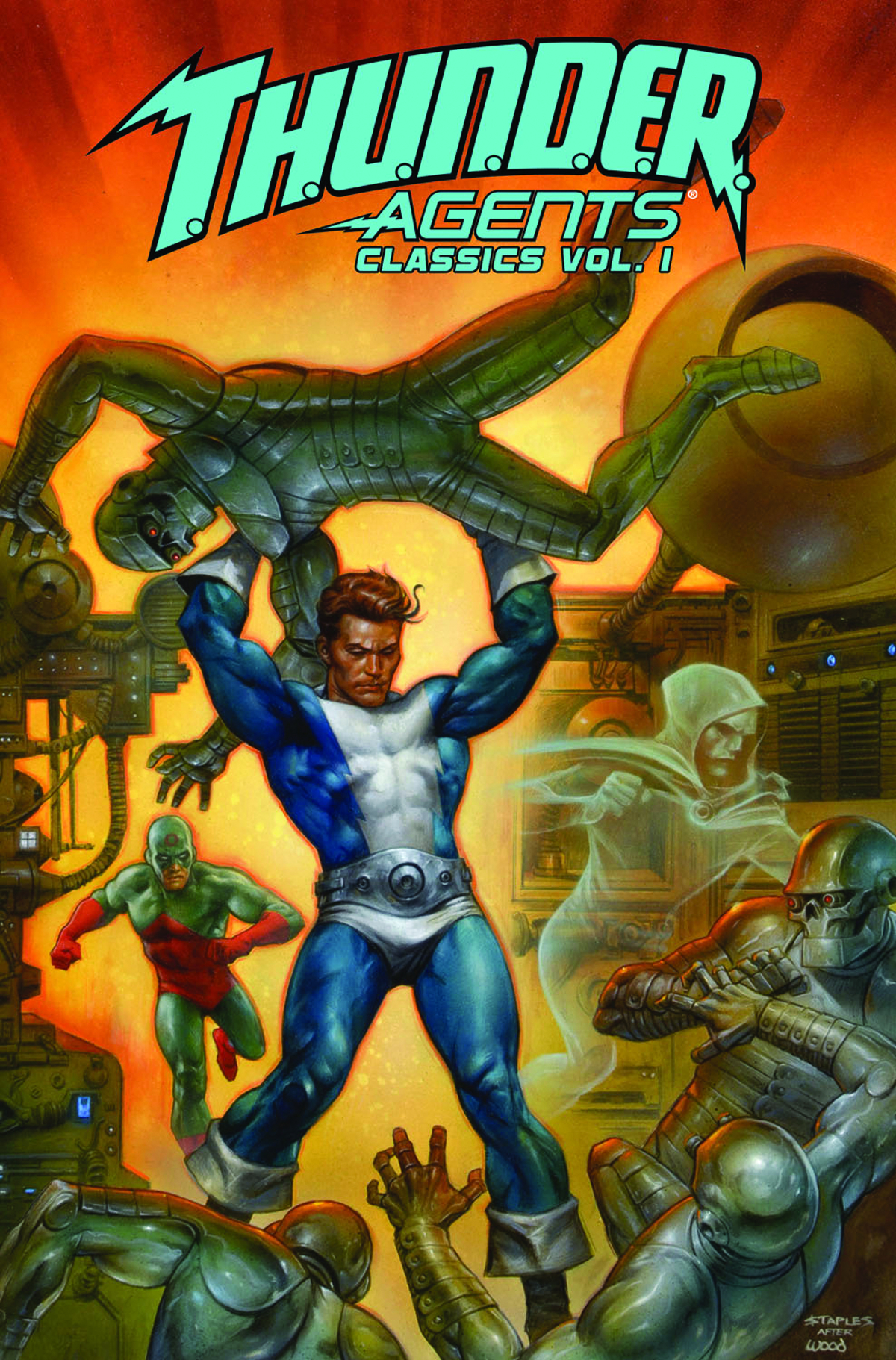 THUNDER AGENTS CLASSICS TP VOL 01