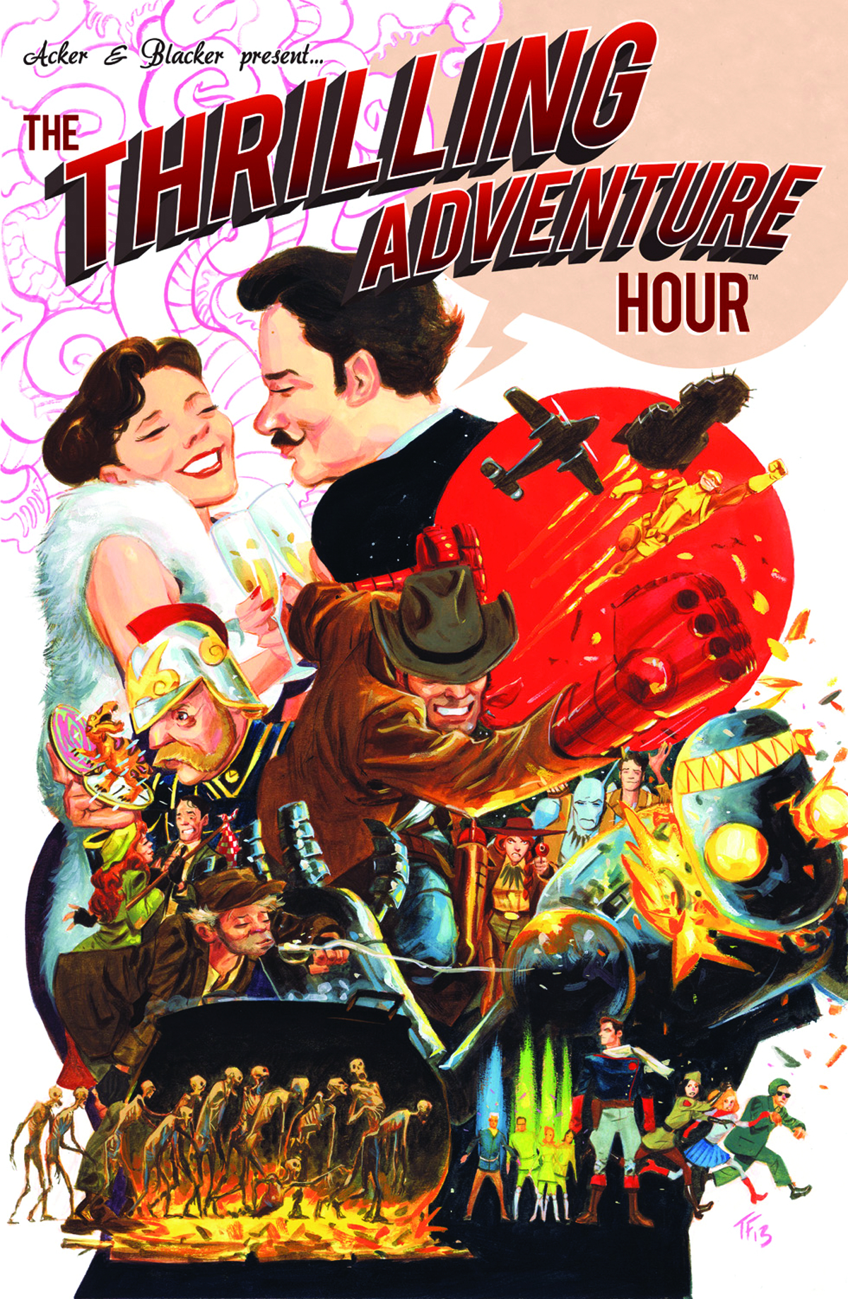 (USE DEC138353) THRILLING ADVENTURE HOUR HC