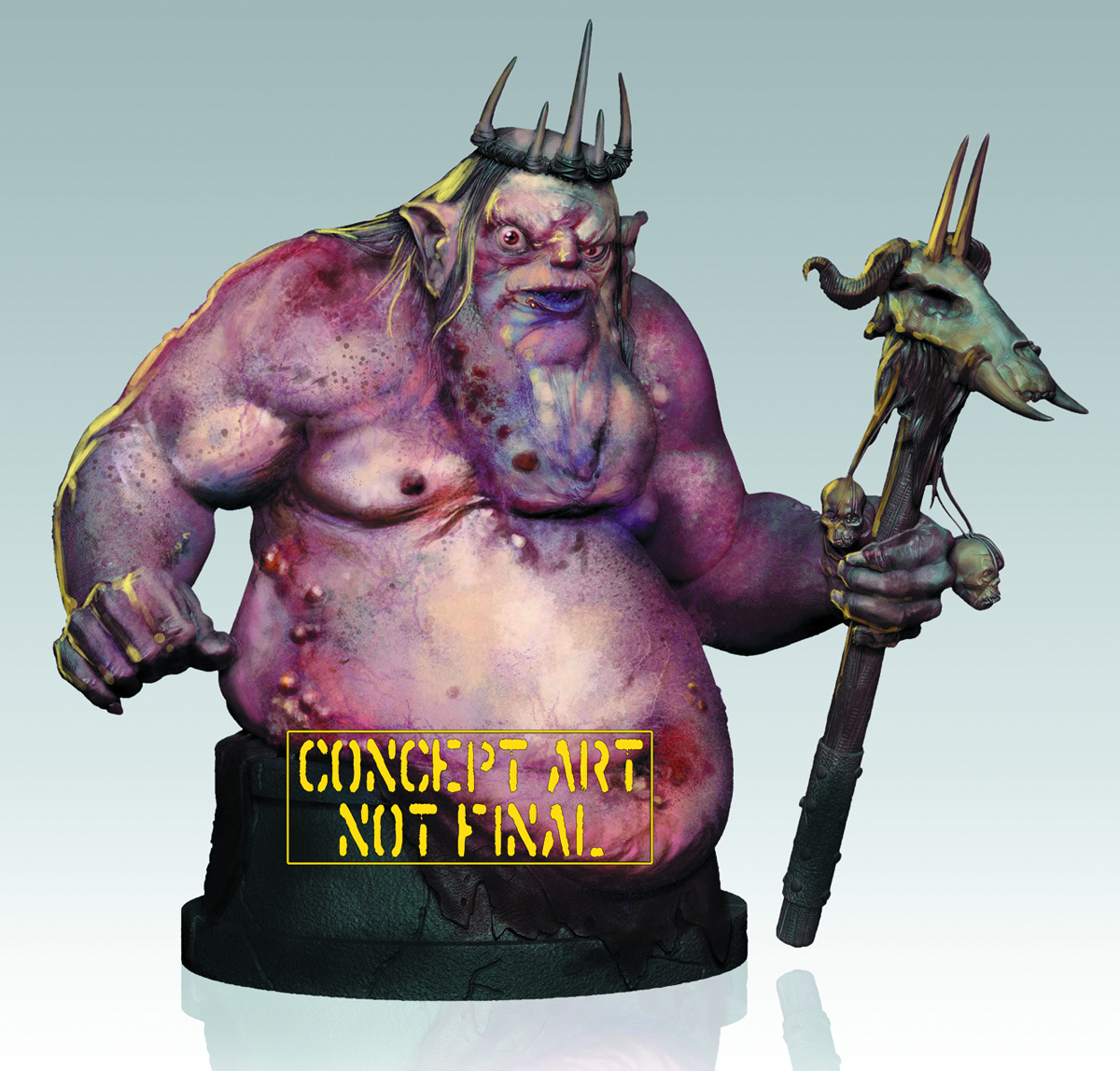HOBBIT GOBLIN KING MINI-BUST