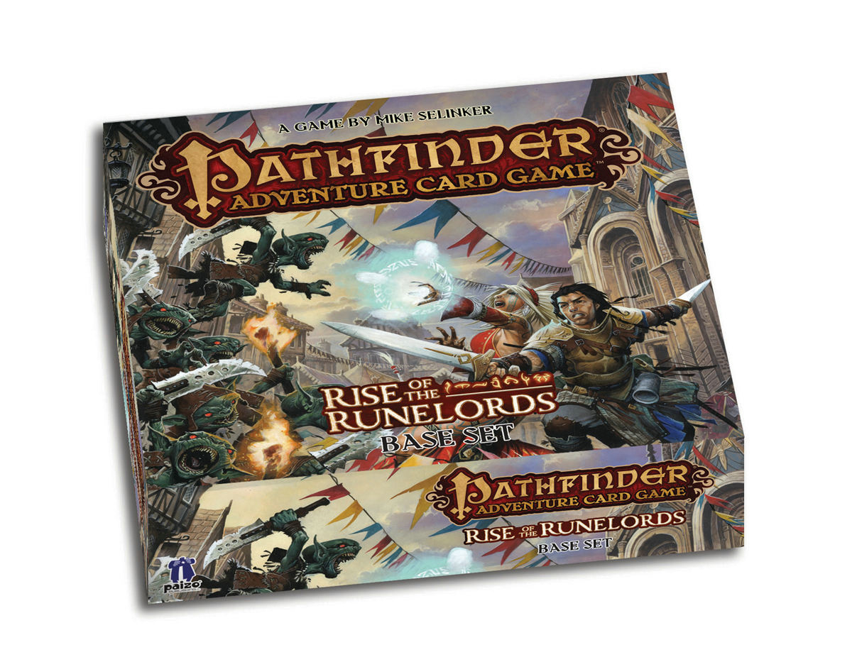 PATHFINDER ADV CARD GAME RISE O/T RUNELORDS BASE SET