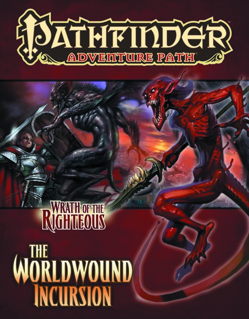 PATHFINDER ADV PATH WRATH O/T RIGHTEOUS PT 1 WORLDWOUND INC