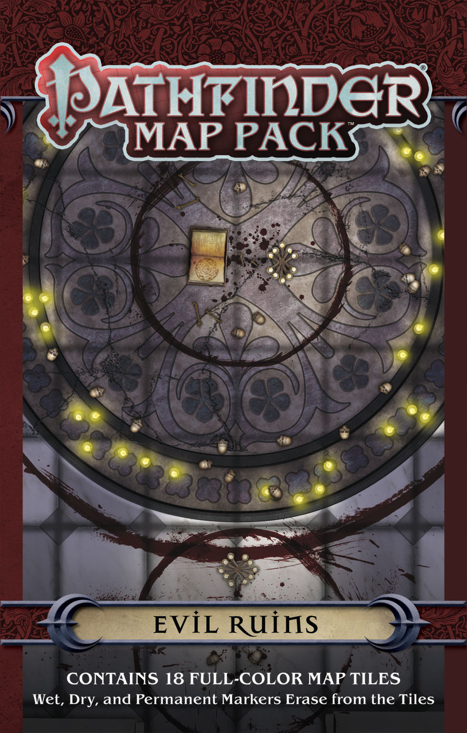 PATHFINDER MAP PACK EVIL RUINS