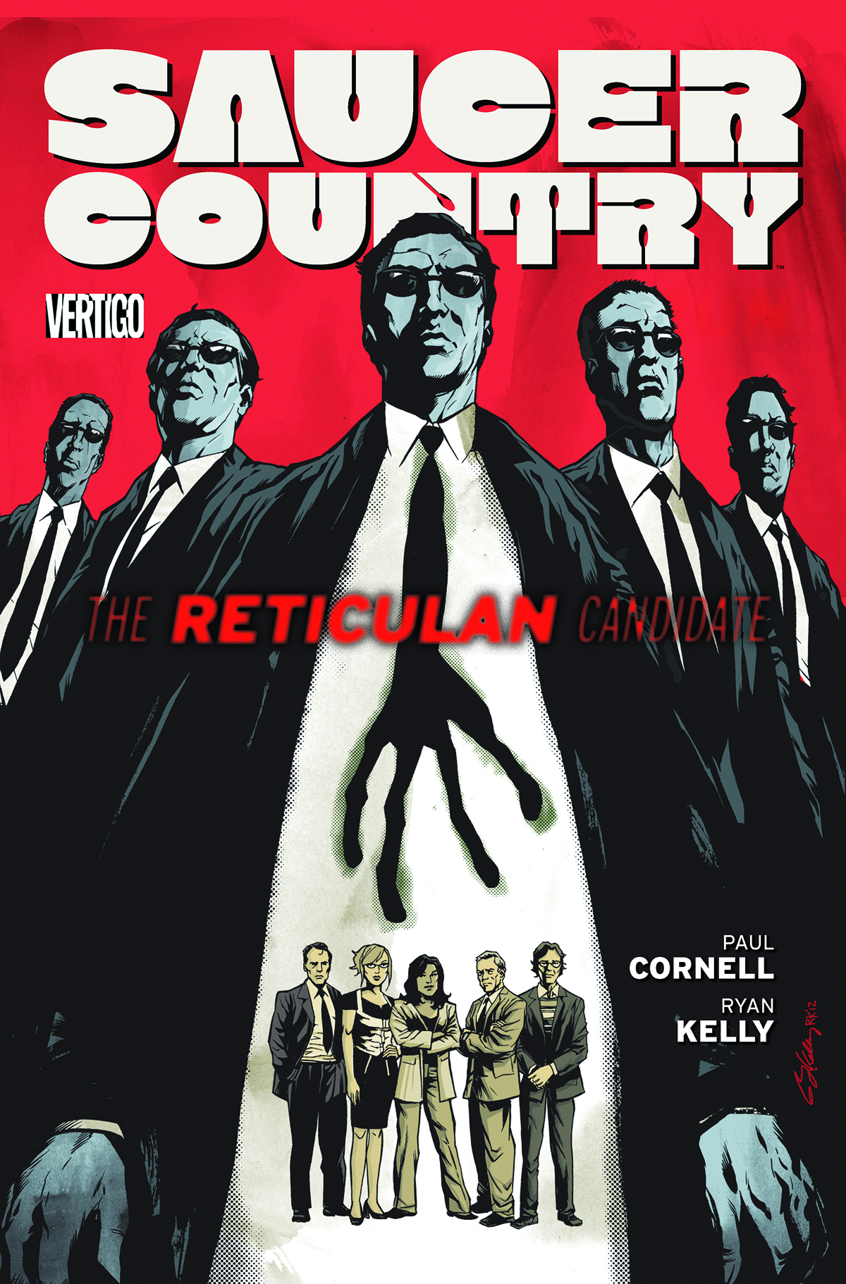SAUCER COUNTRY TP VOL 02 RETICULAN CANDIDATE