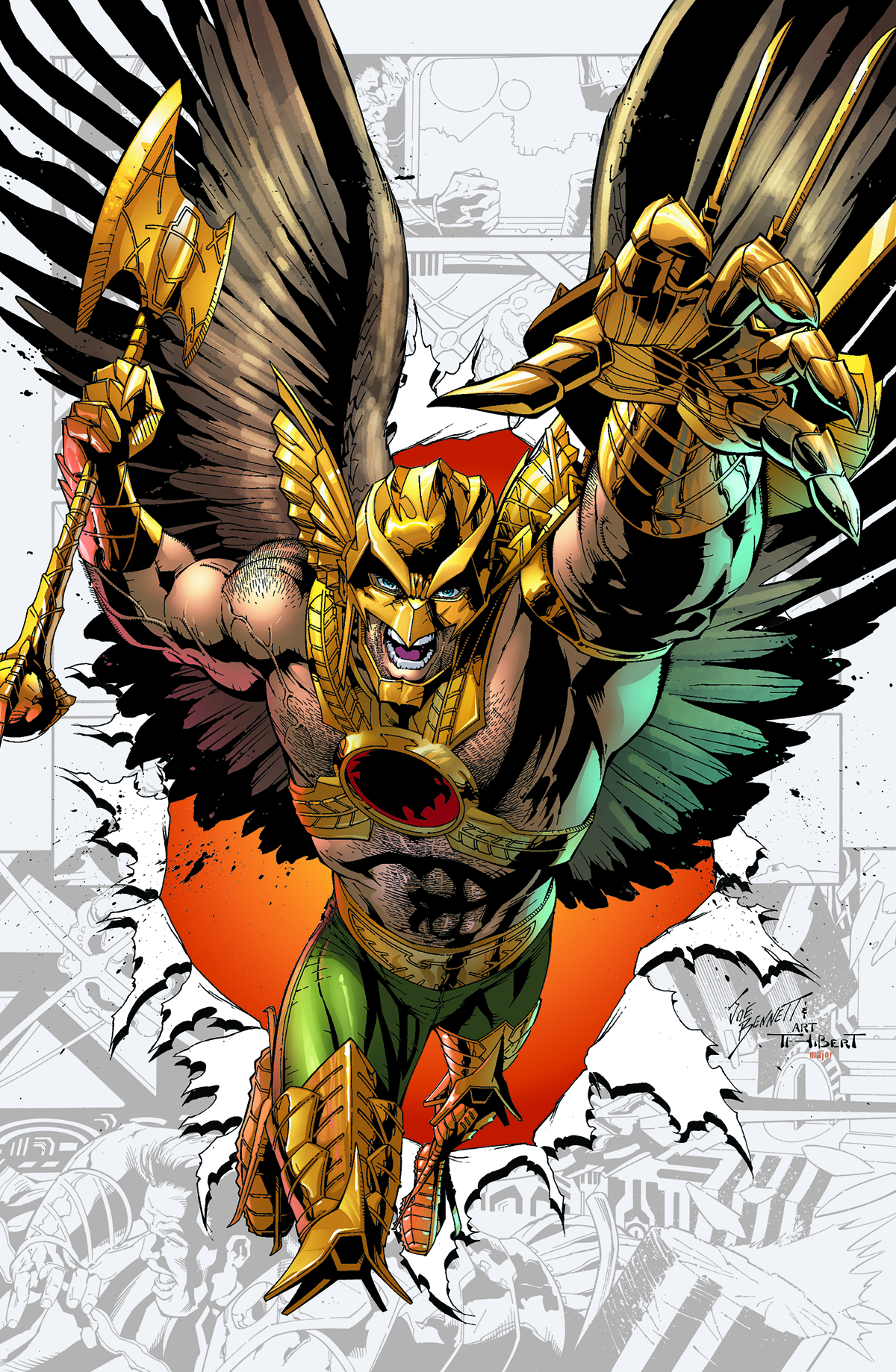 SAVAGE HAWKMAN TP VOL 02 WANTED