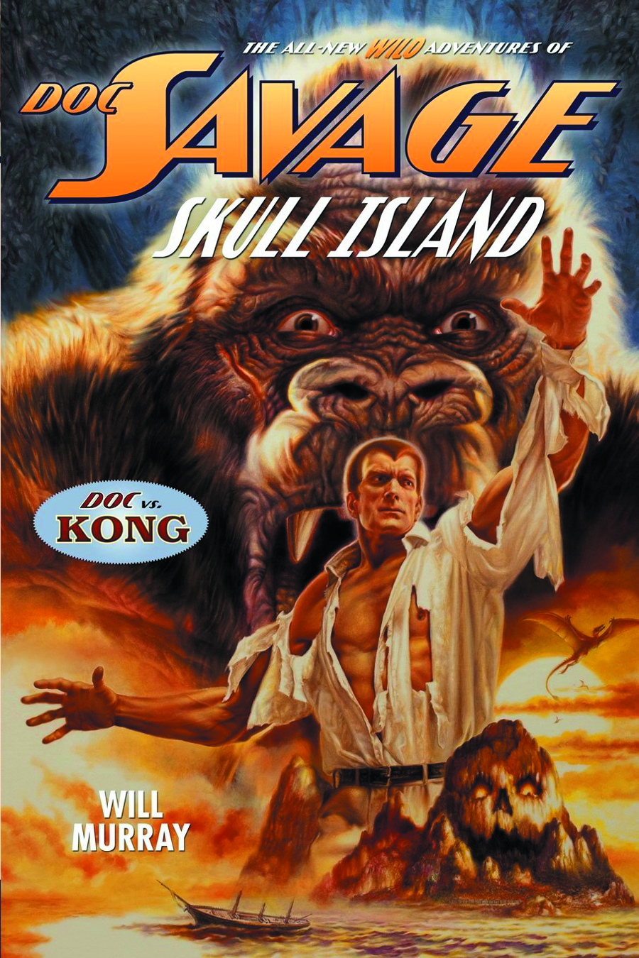 DOC SAVAGE NEW ADV SC VOL 05 SKULL ISLAND