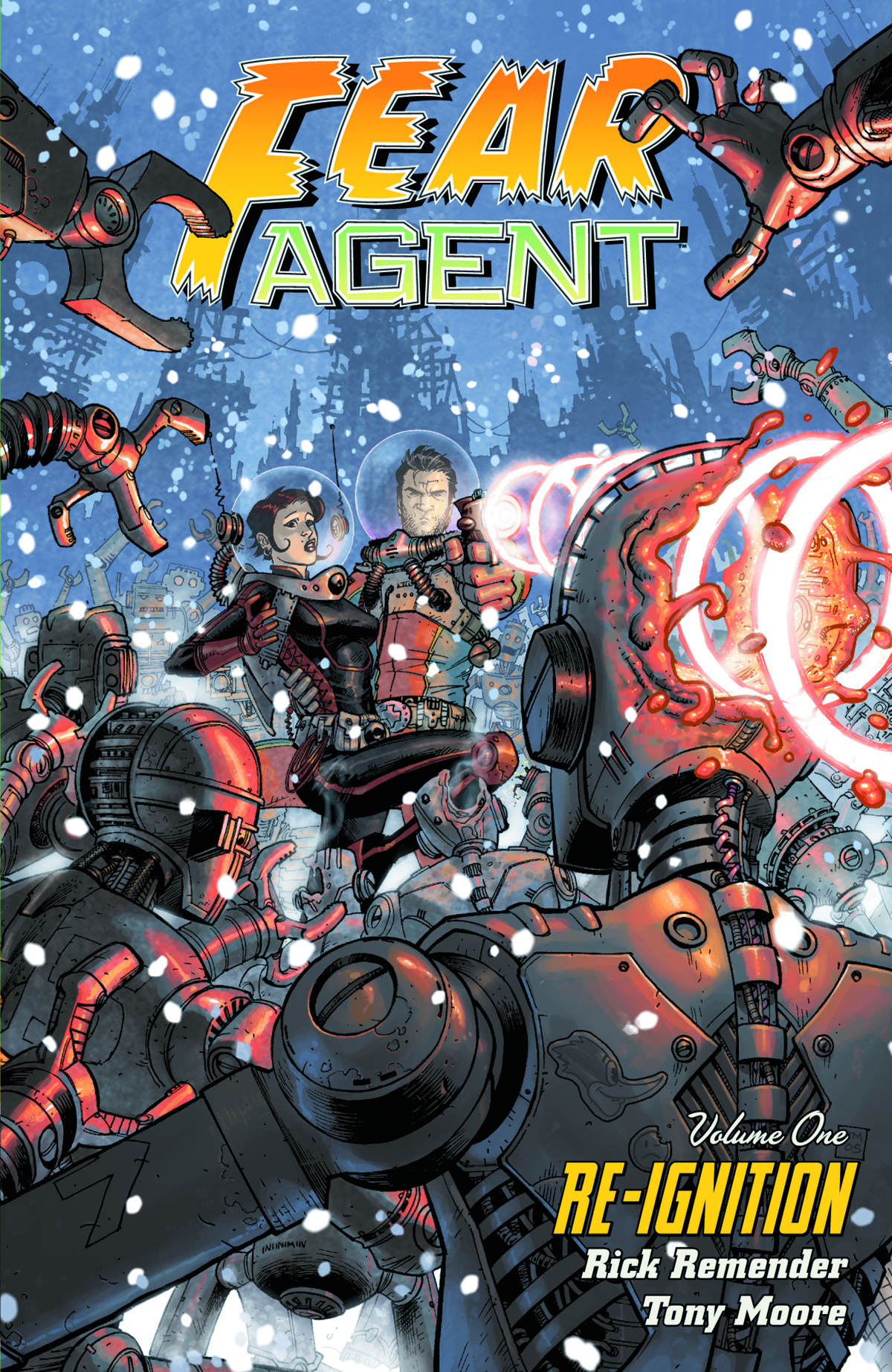 FEAR AGENT TP VOL 01 RE-IGNITION