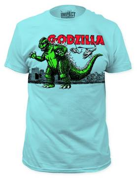 GODZILLA AIR STRIKE LIGHT BLUE PX T/S XL