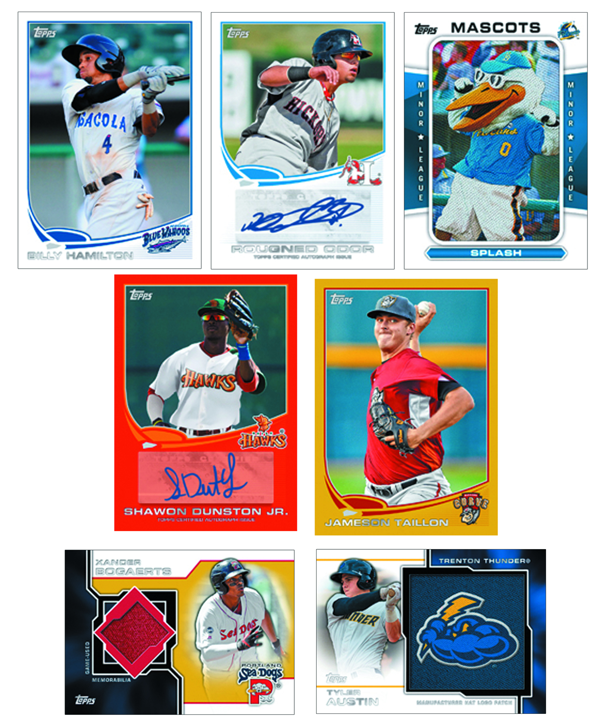 TOPPS 2013 PRO DEBUT BASEBALL T/C BOX
