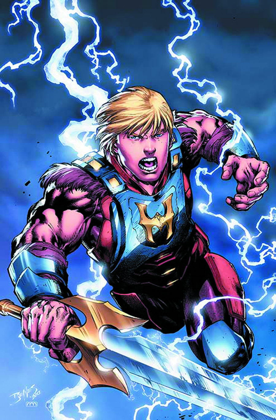 HE MAN AND THE MASTERS OF THE UNIVERSE #4