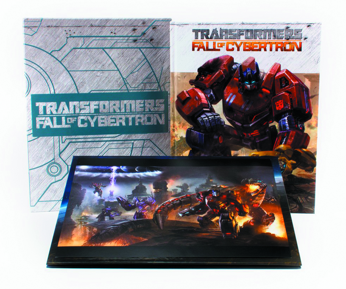 TRANSFORMERS ART OF FALL OF CYBERTRON HC RED LABEL ED