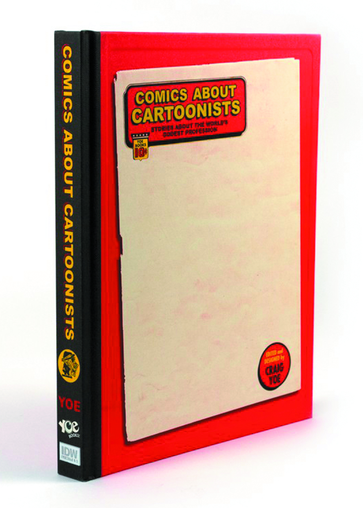 COMICS ABOUT CARTOONISTS HC LTD SKETCH ED