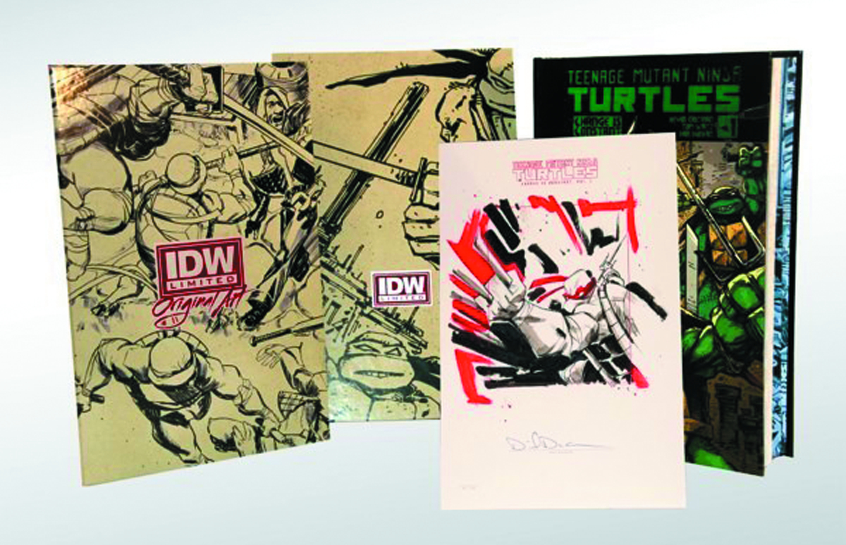 TMNT ONGOING HC VOL 01 RED LABEL ED