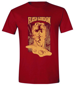 FLASH GORDON POSTER PX RED T/S MED