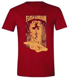 FLASH GORDON POSTER PX RED T/S XL