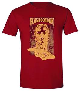 FLASH GORDON POSTER PX RED T/S XXL
