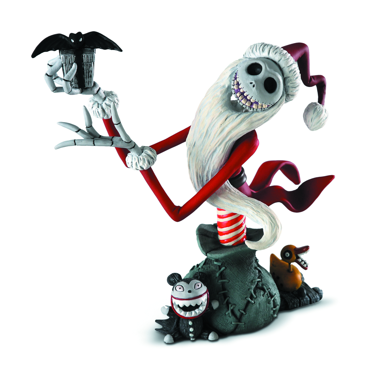 GRAND JESTER SANTA JACK SKELLINGTON MINI-BUST