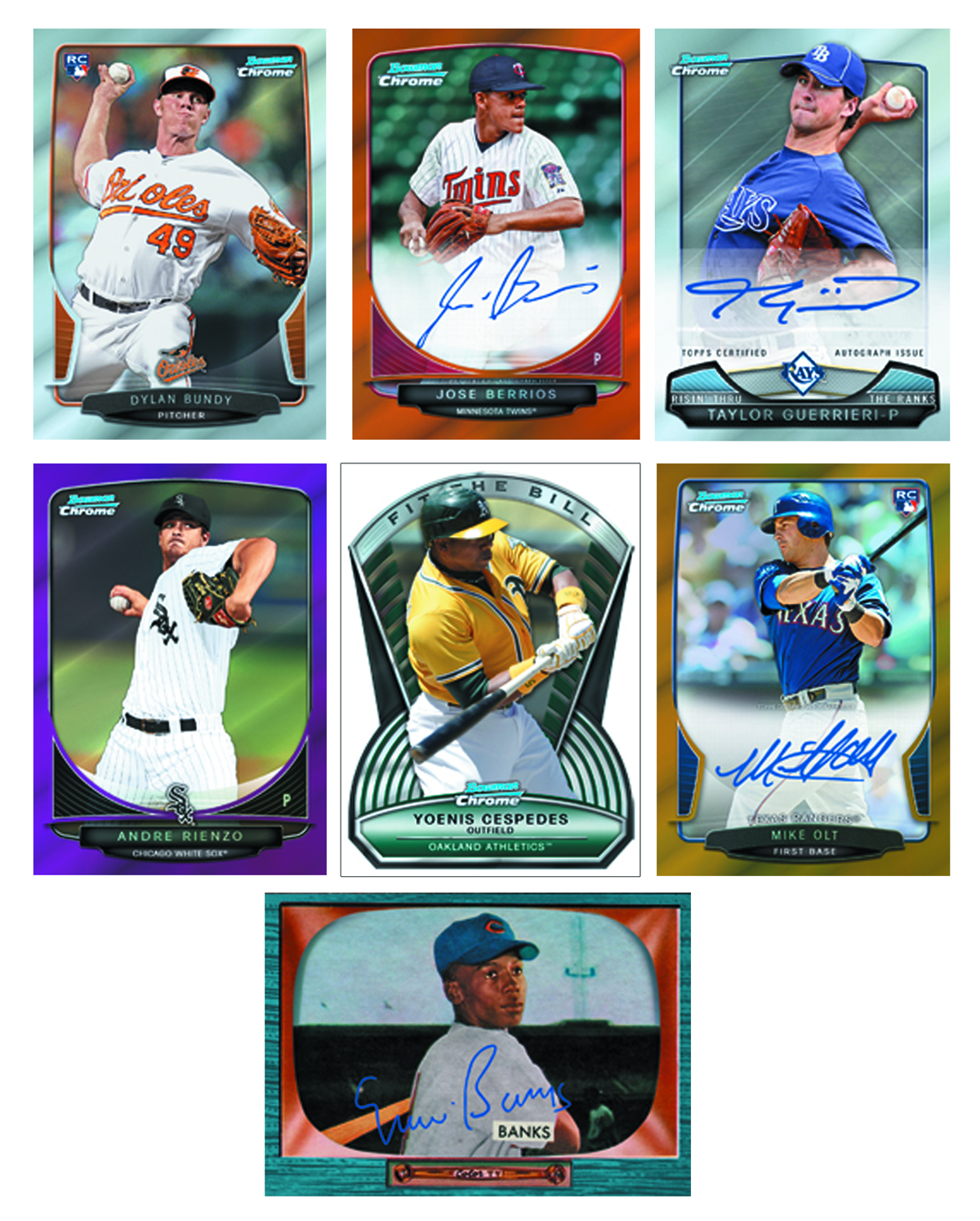 BOWMAN 2013 CHROME BASEBALL T/C BOX