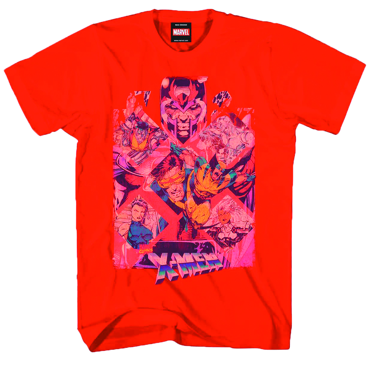 X-MEN ATOMIZED PX RED T/S LG
