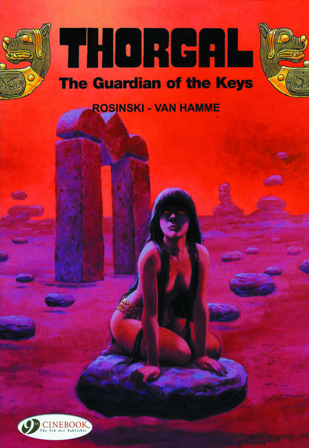 THORGAL GN VOL 09 GUARDIAN OF THE KEYS