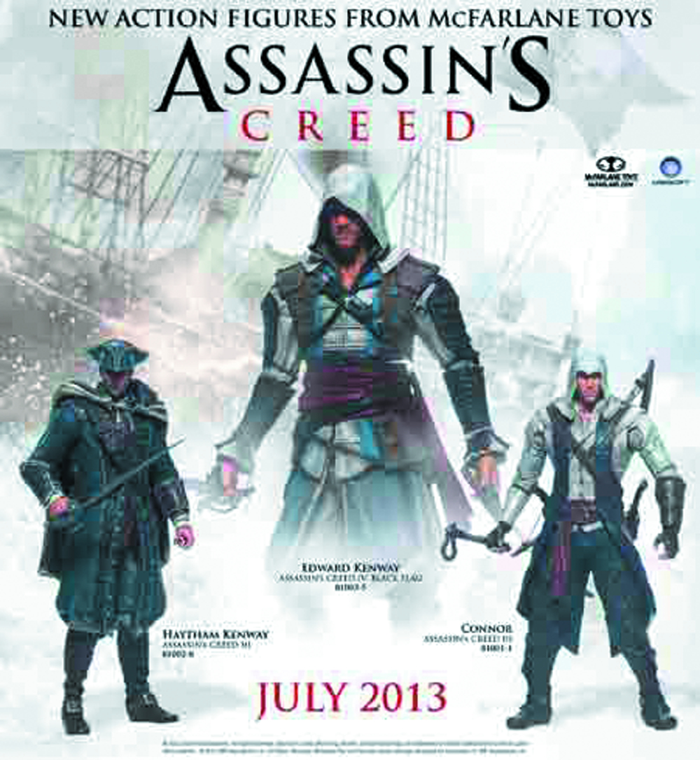 ASSASSINS CREED SERIES 1 CONNOR AF CS