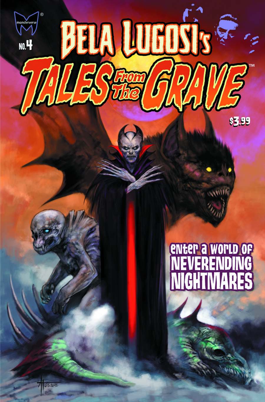 BELA LUGOSI TALES FROM GRAVE #4