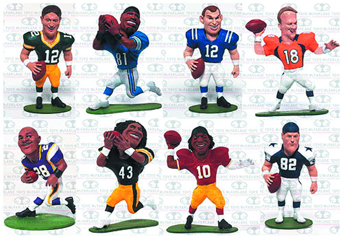 TMP NFL SMALL PROS MINI FIG SER 1 BMB DIS