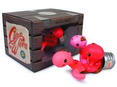 CAN OF WORMS VINYL FIG PINK VER
