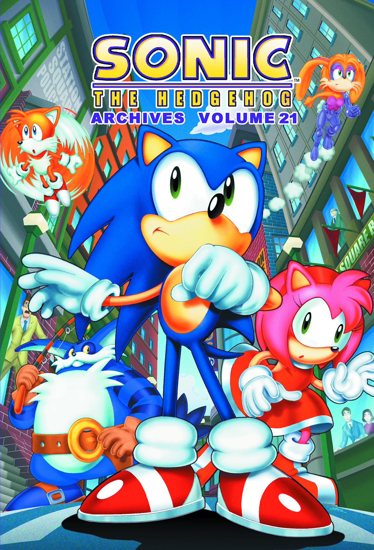 SONIC THE HEDGEHOG ARCHIVES TP VOL 21