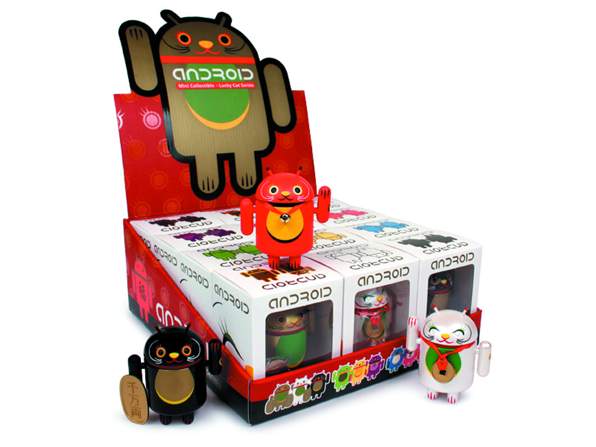 ANDROID VINYL FIG 12PC DS LUCKY CAT SER