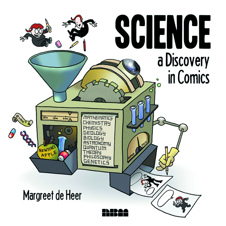 SCIENCE A DISCOVERY IN COMICS HC