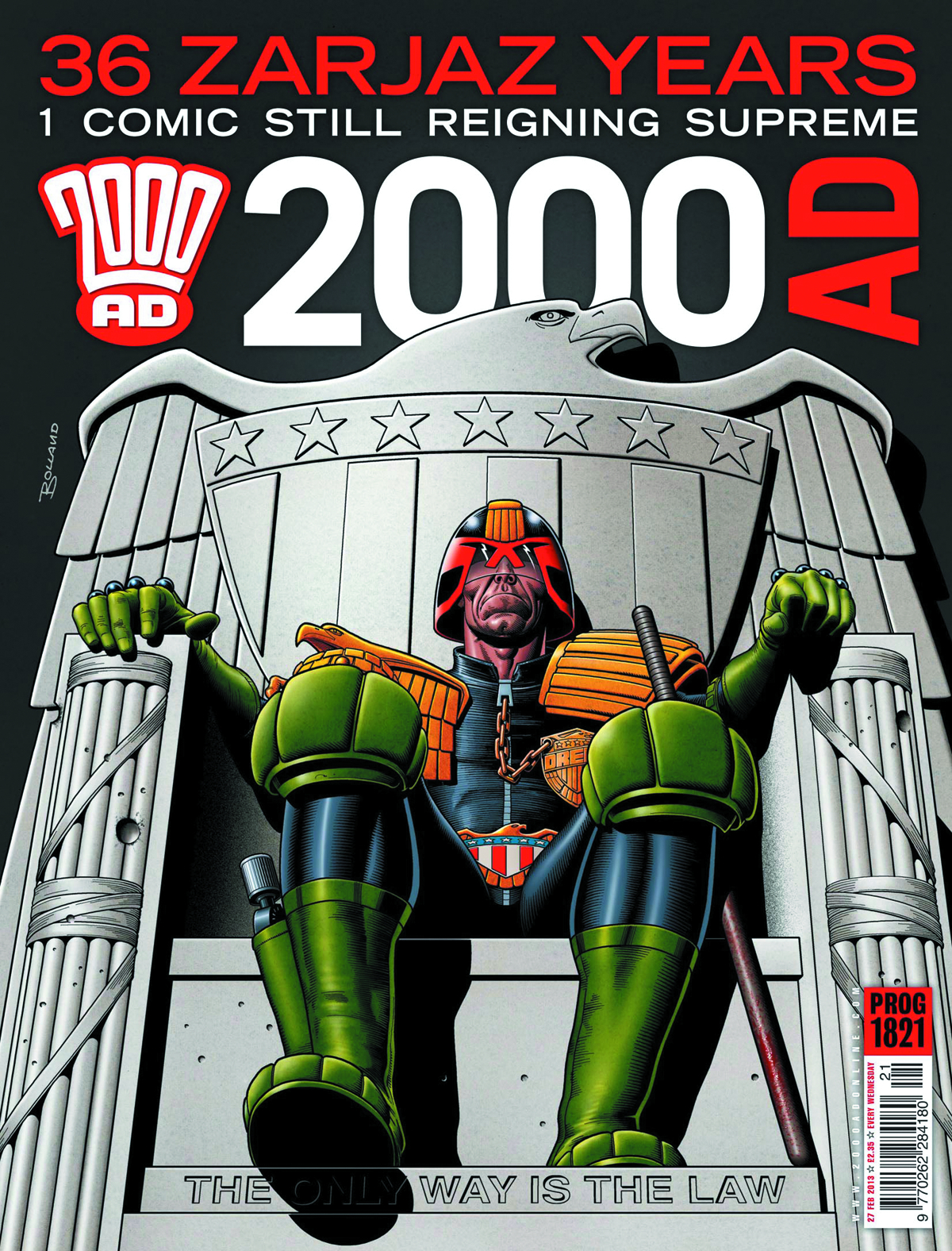 2000 AD PACK JUL 2013
