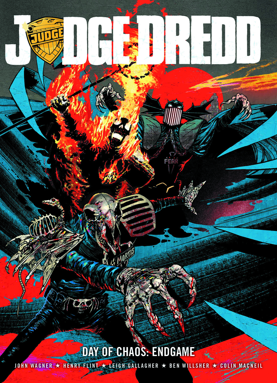 JUDGE DREDD DAY OF CHAOS ENDGAME GN