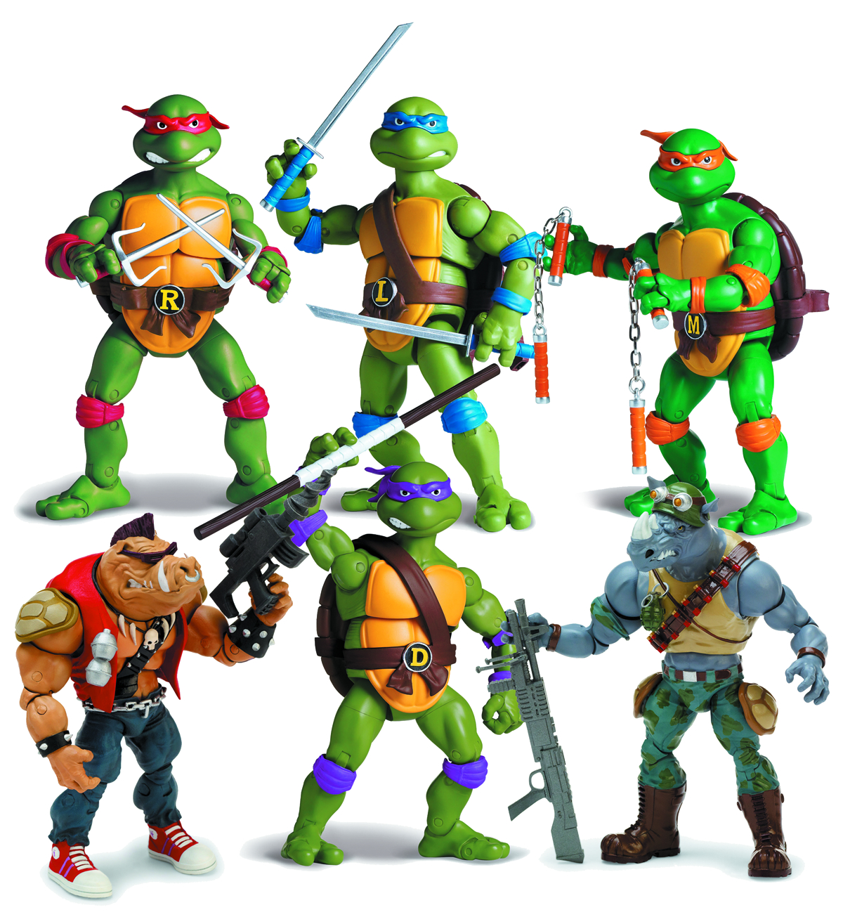 (USE APR121769)TMNT CLASSIC COLLECTOR AF 2013 ASST