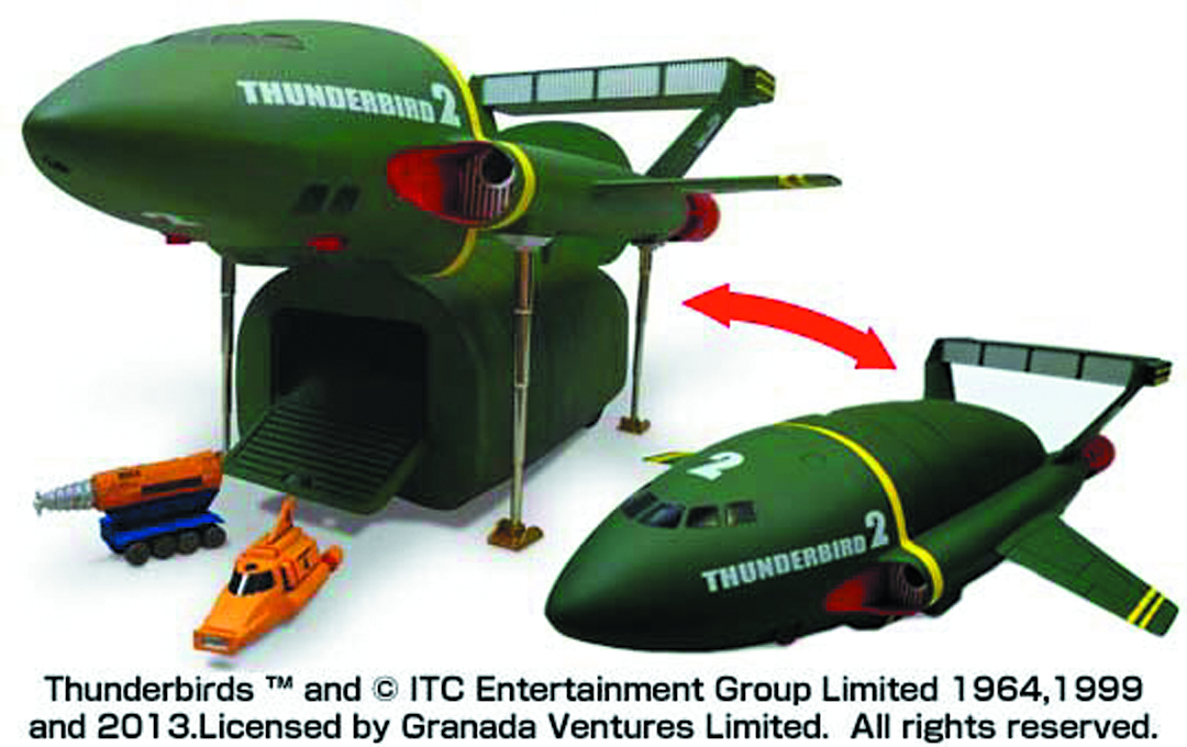 SUPER BIG THUNDERBIRDS 2 MDL KIT