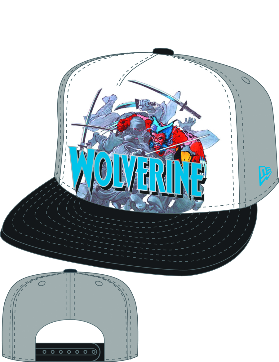 WOLVERINE SUB FRONT SNAP BACK CAP