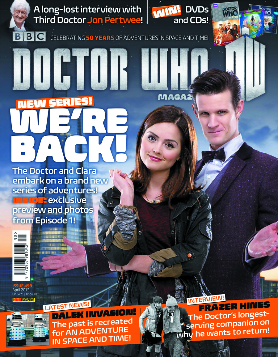 DOCTOR WHO MAGAZINE #462