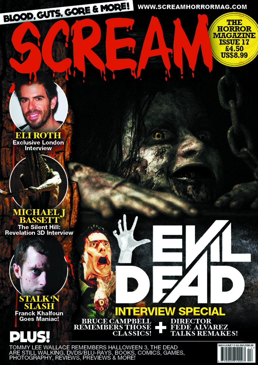 SCREAM MAGAZINE #19