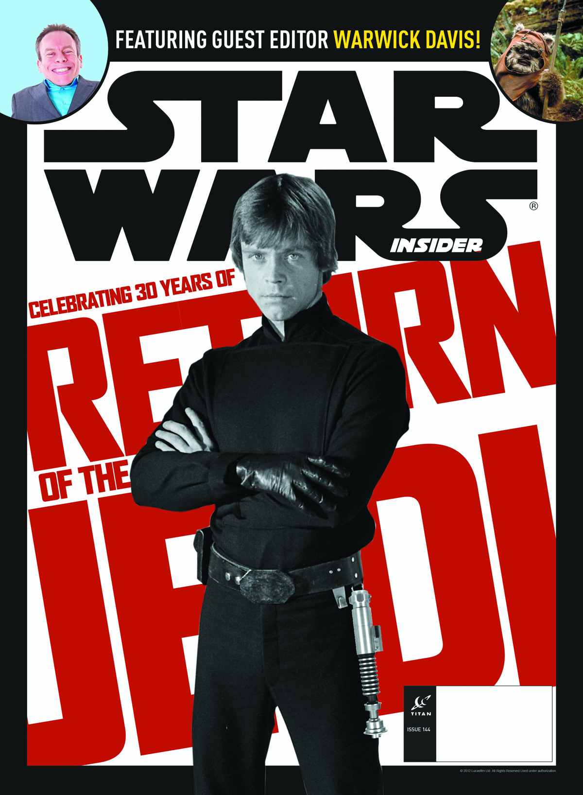 STAR WARS INSIDER #143 NEWSSTAND ED