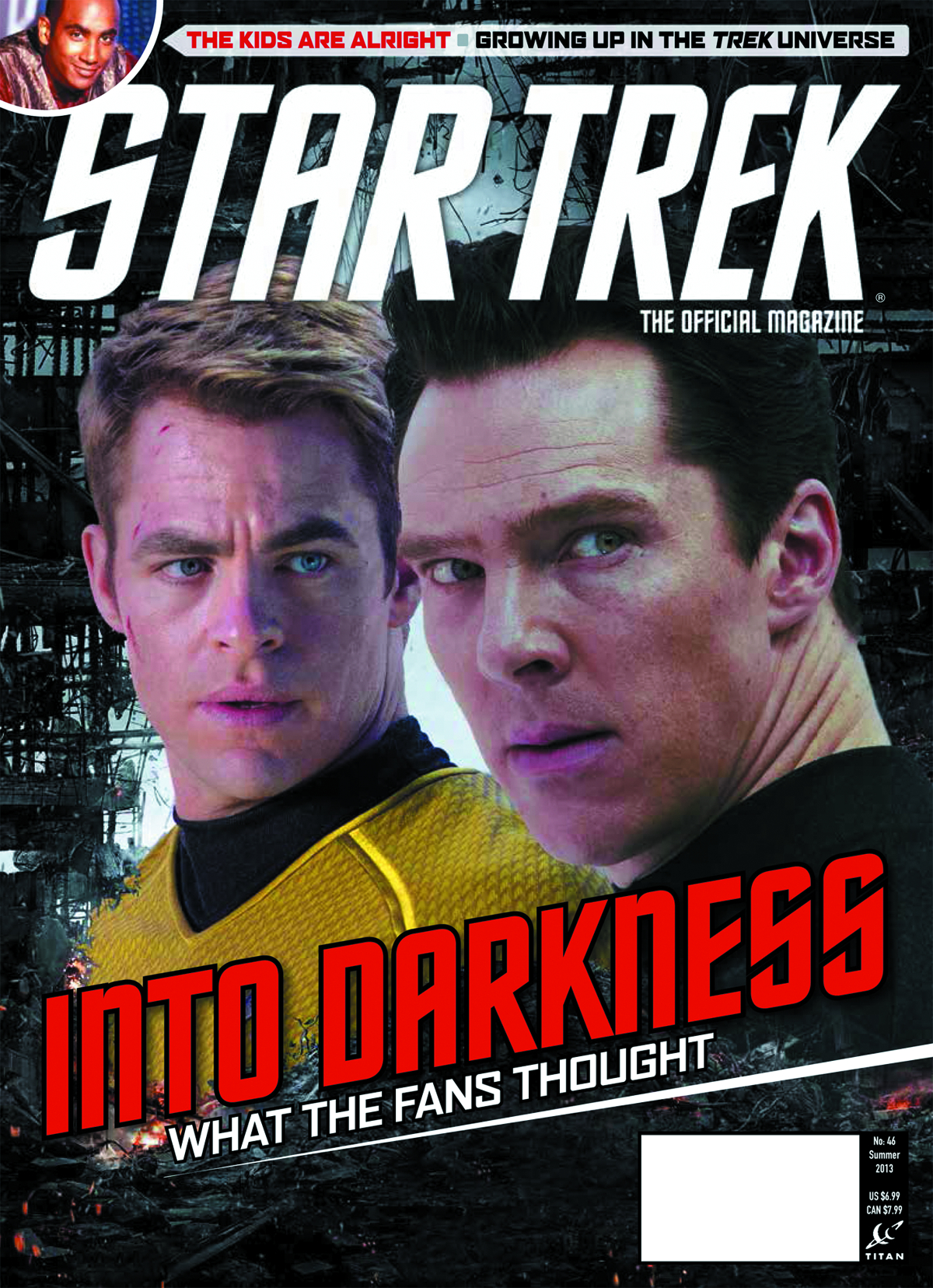 STAR TREK MAGAZINE #46 NEWSSTAND ED