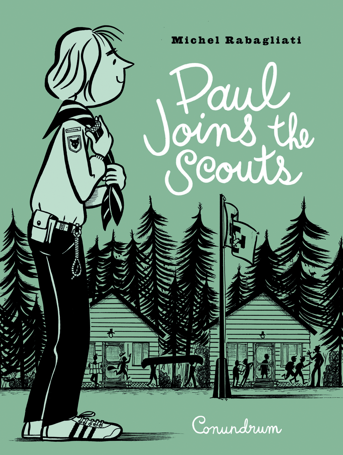 PAUL JOINS THE SCOUTS GN