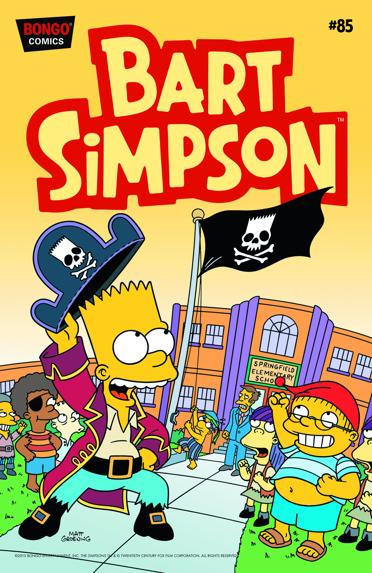 BART SIMPSON COMICS #85