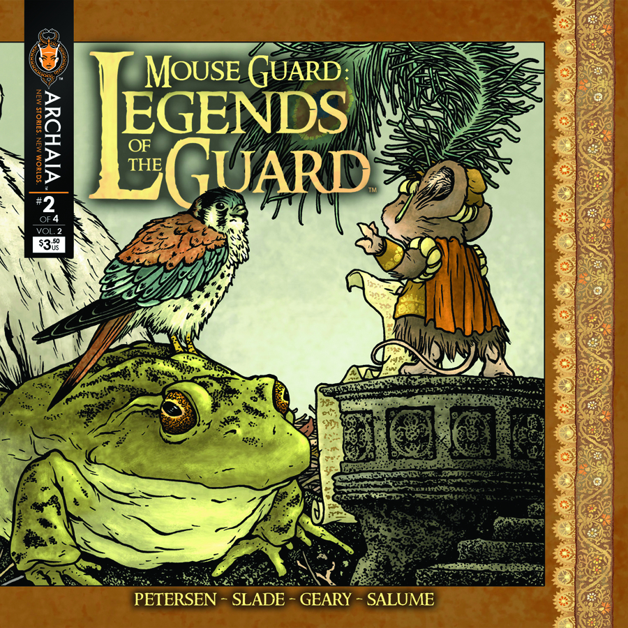 (USE DEC138307) MOUSE GUARD LEGENDS O/T GUARD VOL 2 #2
