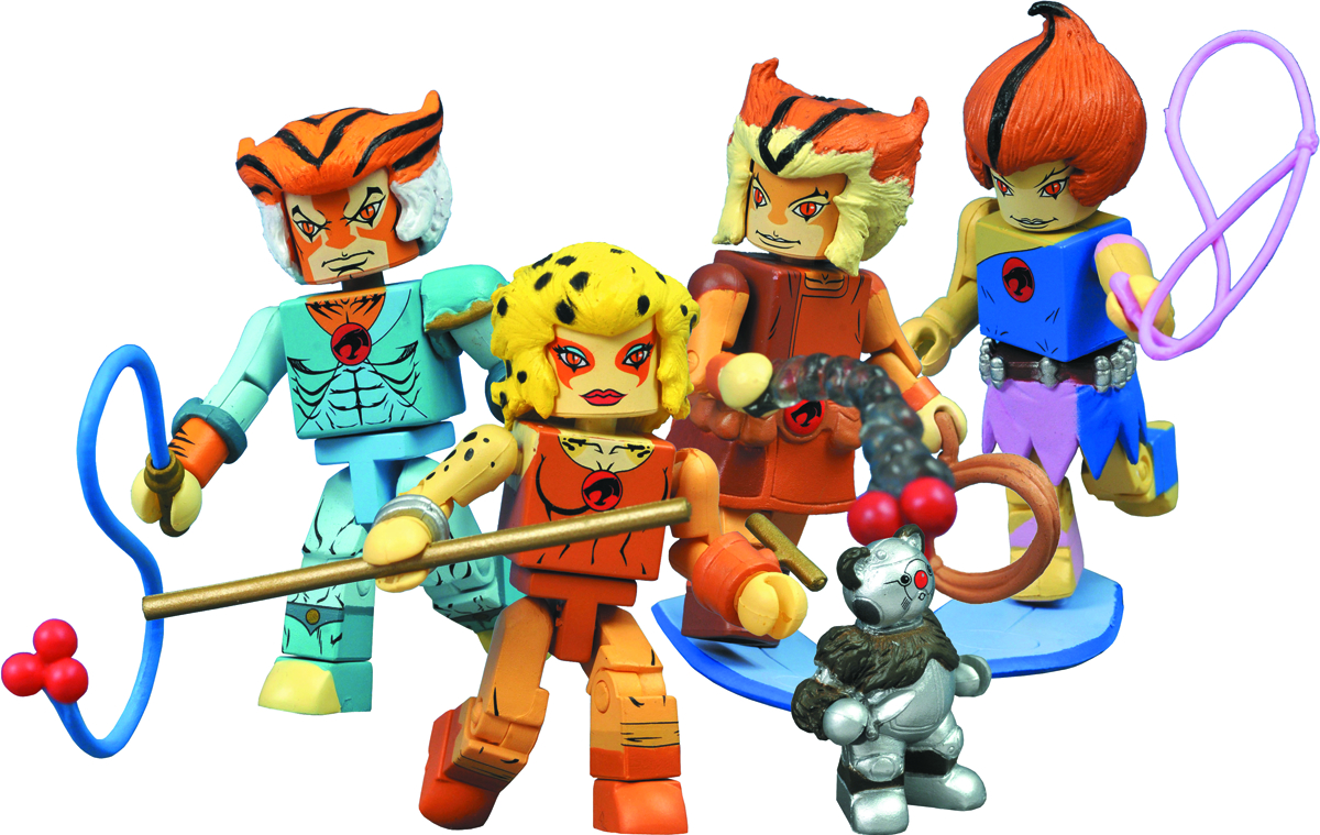 THUNDERCATS MINIMATES SERIES 3 BOX SET