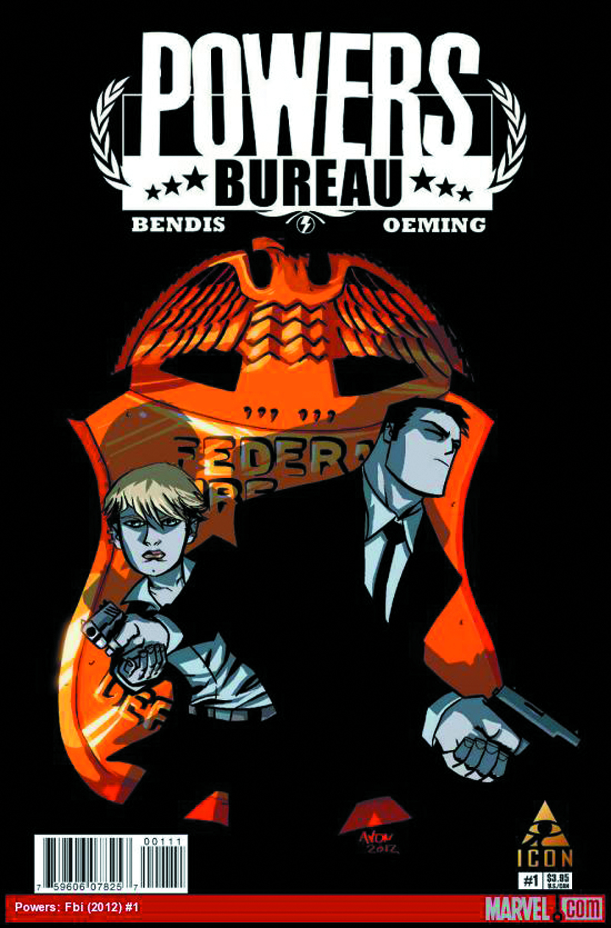 POWERS BUREAU #1 2ND PTG OEMING VAR (MR)