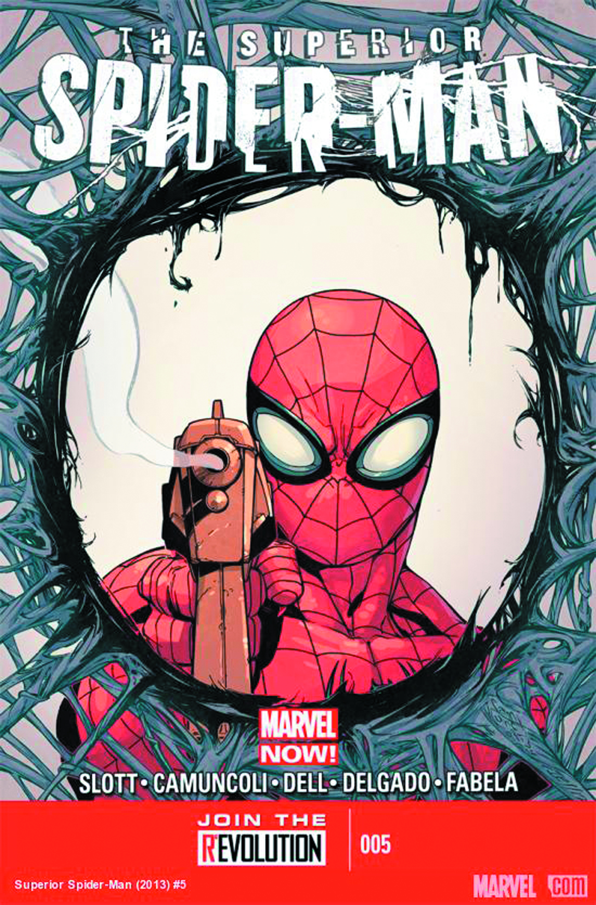 SUPERIOR SPIDER-MAN #5 2ND PTG CAMUNCOLI VAR NOW