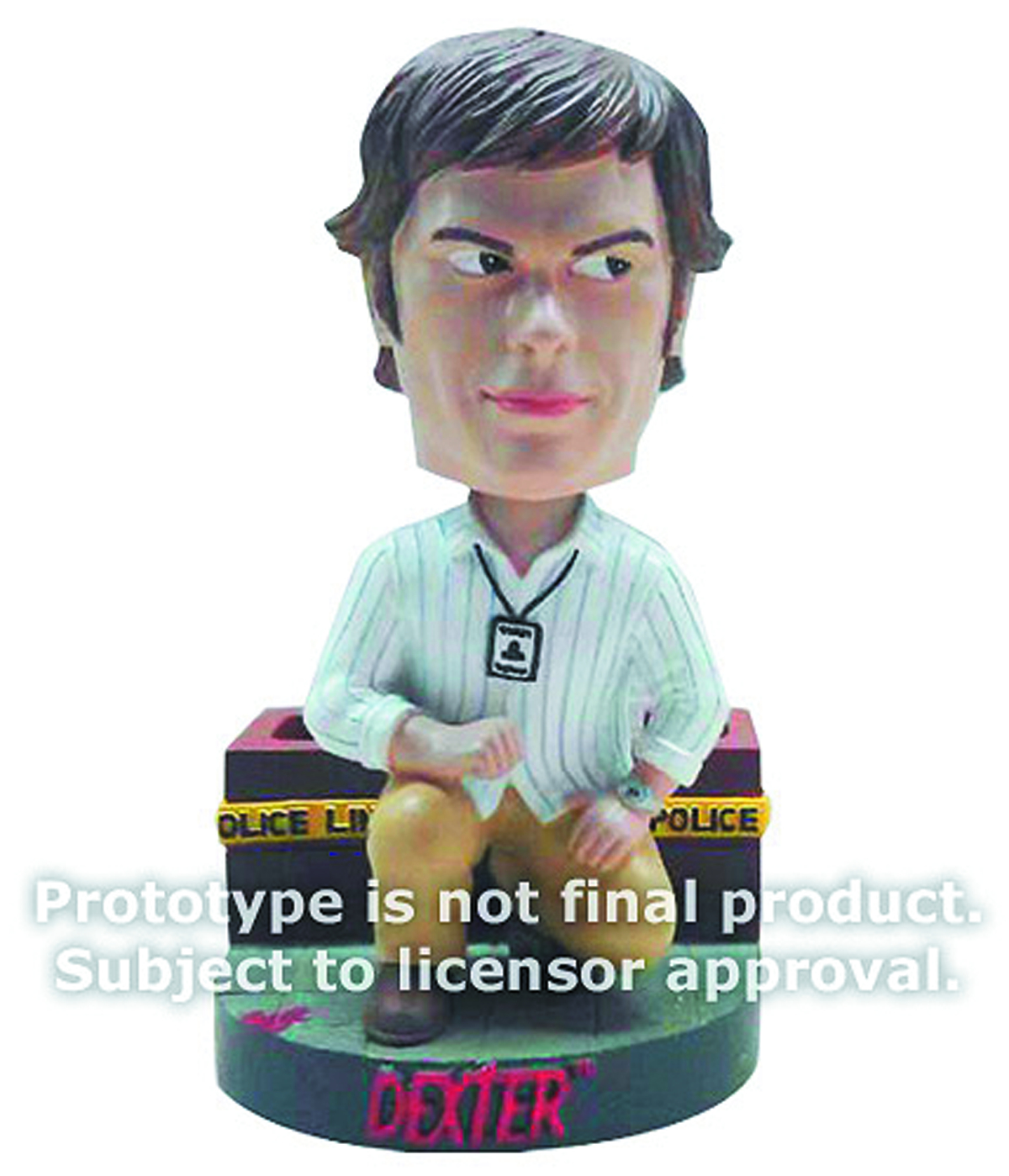 DEXTER MORGAN TALKING BOBBLE HEAD